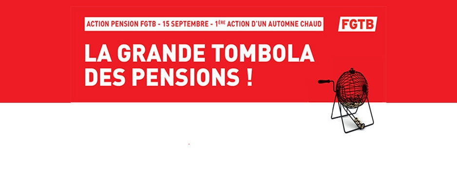 ACTION PENSION FGTB - 15 SEPTEMBRE 2017