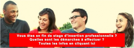 Fin de stage d'insertion